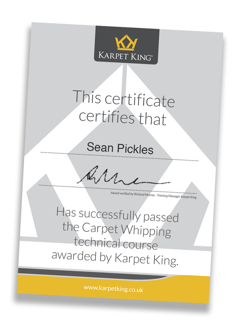 karpet-king-training