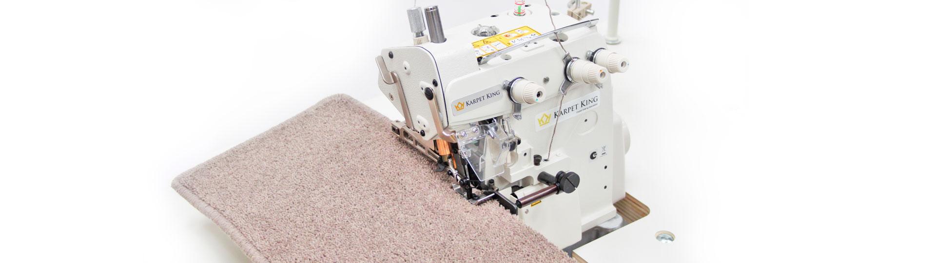 712-P- carpet sample sewing machine