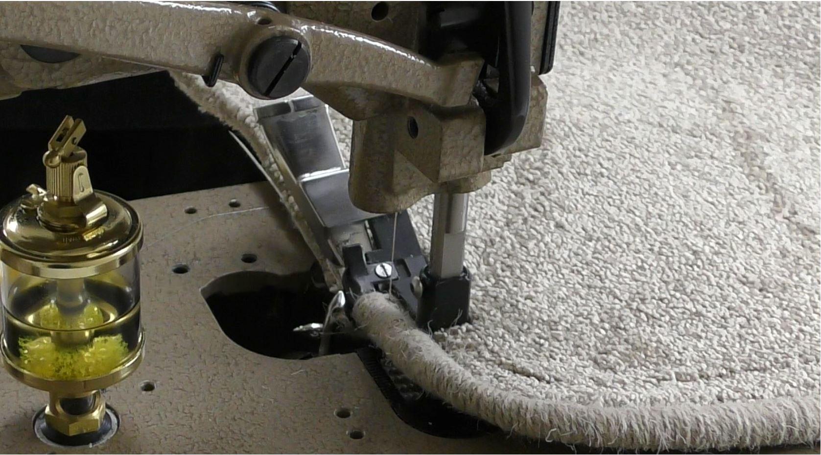 812 P Carpet Whipping Machine Karpet King